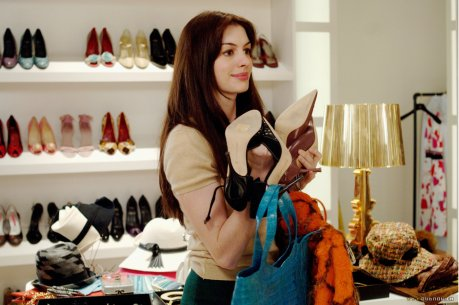 Image result for devil wears prada makeover scene
