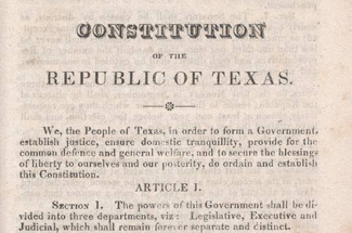 "texas constitution essay The texas constitution states, ""no person shall ever be imprisoned for debt"" yet  de facto debtors' prisons still operate across the state."