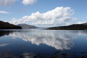 Loch Alsh - Reflection