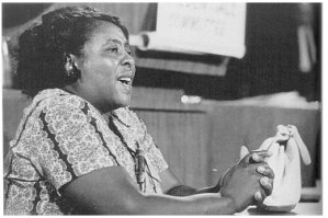 The one and only, Fannie Lou Hamer