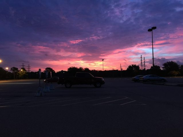 Photo taken by Andrew Joseph Pegoda, October 23, 2015, Houston, Texas, in the parking lot at the University of Houston-Clear Lake.